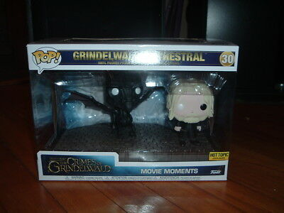 Funko Pop! Grindelwald And Thestral #30~ Hot Topic Exclusive~ Mint~ Movie Moment