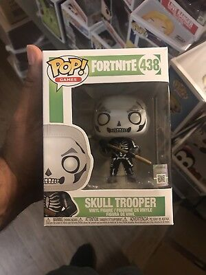 Funko Pop! Games Fortnite #438 Skull Trooper New Collectible Vinyl Figure