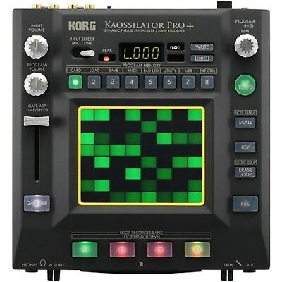 Korg Kaossilator-Pro Phrase Synthesizer and Loop Recorder