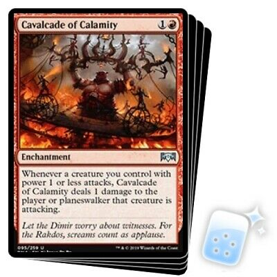 MAGIC THE GATHERING Cavalcade of Calamity Ravnica Allegiance