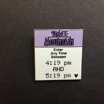 WDW Cast Lanyard Collection 4 Disney's FastPass Space Mountain Disney Pin 42035