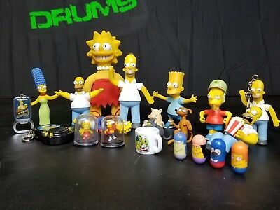 The Simpsons '90's-2000's Miscellaneous Novelty Toy LOT USED