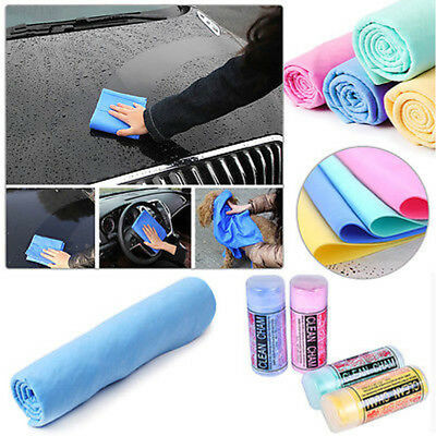 F825 PVA Microfiber Absorbent Kitchen Car Cleaning Drying Towel Pet Hair Dry