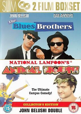 The Blues Brothers & National Lampoon's Animal House - NEW Region 2 DVD