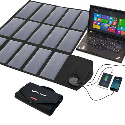 Foldable Solar Panel 18V 5W 10W 60W 80W 100W Portable Battery Charger Power Bank