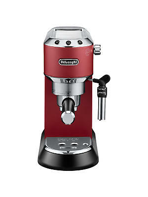 De'Longhi Dedica Style Pump Espresso Coffee Machine - Red - EC685R