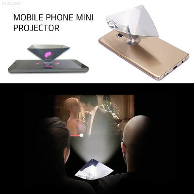 3D56 ABS for 3.5-6inch Phone Foldable Holographic Projection Screen