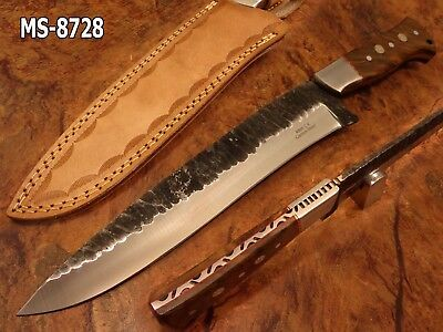 "14.2""kma Custom Forged 1080 High Carbon Steel Full Tang Avenger Knife Ms-8728"