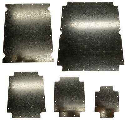 Steel Back Plate Mounting Plate for Junction Box 190 / 240 / 300 / 380 / 460mm