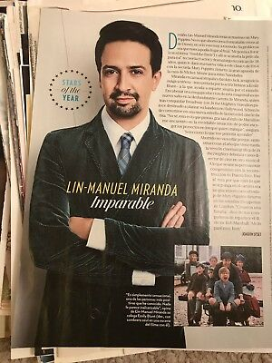 139 + Lin-manuel Miranda Clippings Hamilton Broadway Mary Poppins Tony Latino