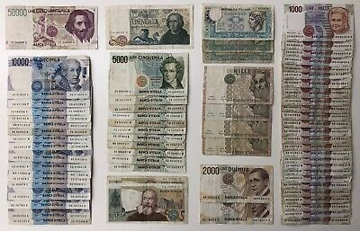 67 x Mixed Banknote Collection - ITALY. (2483)