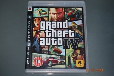 Grand Theft Auto IV Ps3 Playstation 3