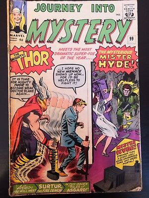Journey Into Mystery 99 The Mighty Thor Meets The Mysterious Mr Hyde