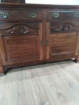 Quality Solid Mohagany Sideboard