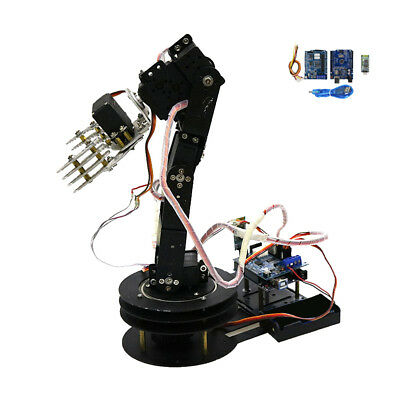 5 Axis Metal Robot Robotic Mechanical Clamp Claw Arm Kit Servo For Arduino