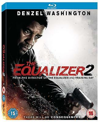 The Equalizer 2 [Blu-ray]  with card sleeve