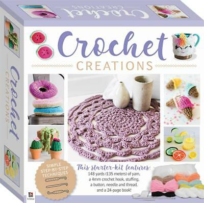 Sewing Craft Sets - Crochet Creations Kit - Full Starter Kit
