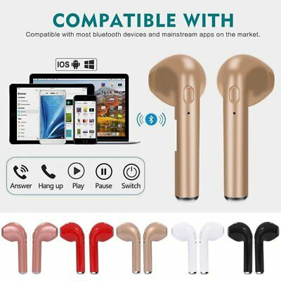 Mini Bluetooth Headphone Earbuds In-Ear Sports Stereo Wireless Earphone with Mic