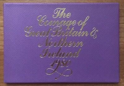 Royal Mint Coin Set The Coinage of Great Britain and Northern Ireland 1980
