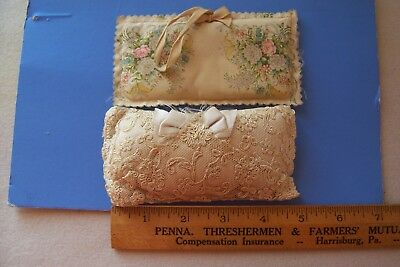 Vintage Antique Collectible Sachets Lot of Two