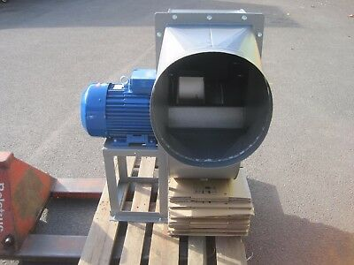 Large Dyno Fan Centrifugal Blower 7.5KW 2900rpm 15500m3/hr high pressure 96mph