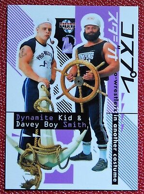 Japan Wrestling Card BBM 2003 #53 Dynamite Kid & Davey Boy Smith