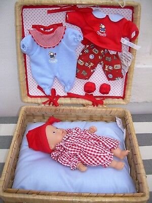 Corolle 20cm baby doll with layette