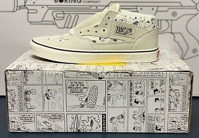 25181a3171 Vans Half Cab Peanuts Snoopy Family Marshmallow VN0A348EQV3 Men s Size 9.5