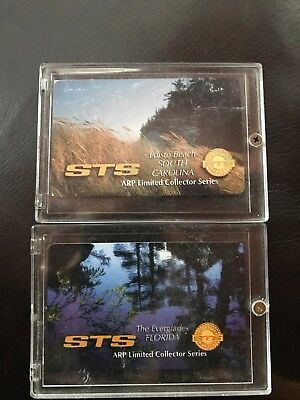STS Phone Cards, 2 sets of 3 The Masters-4 Landscape Collection