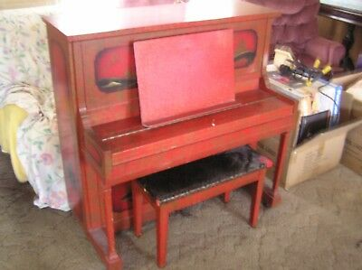 Behr Bros & Co. Tom Thumb Antique Upright Piano