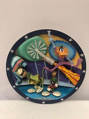 Warner Bros Marvin the Martian in the 3rd Dimension Limited Edition 3D Plate