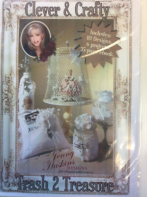 Jenny Haskins for Elegant Embroidery Designs - Clever & Crafty Trash 2 Treasure