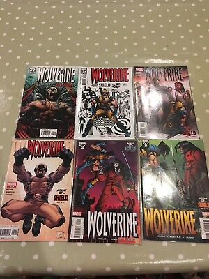 Wolverine - Agent Of Shield, Set Of Comic Books No's 26 27 28 29 30 31