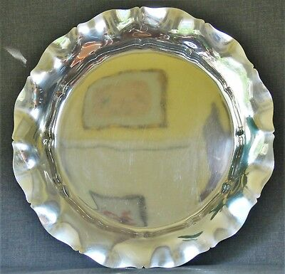 Gorham Sterling Silver Tray Standish Pattern