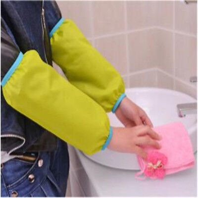 Unisex Household Cleaning Arm Length Gloves Arm Protectors Waterproof Feature 6A