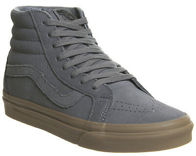 3c896cc5c2 Womens Vans Grey Suede Lace Up Trainers Size UK 6  Ex-Display New with  Defects. See below for more info.
