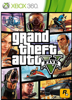 Gioco per Microsoft XBOX 360 GRAND THEFT AUTO GTA 5 FIVE V