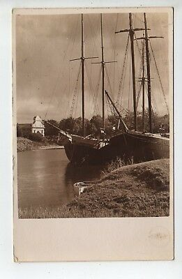 Nice 1934 Estonia RPPC, Boats, Stamps, To USA