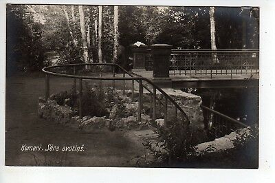 c1930s? Kemeri Latvia National Park RPPC #3