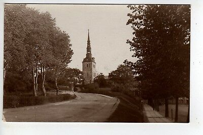 1932 Estonia, Church RPPC, Stamps, Sent To Long Island New York