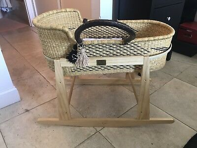 Moses Basket and Rocking Stand from The Young Folk Collective