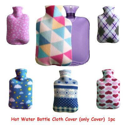 Hot Water Bottle Cover Winter Warm Heat Cold Therapy  Cloth Bottle Case
