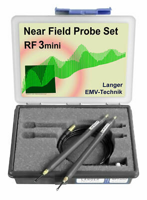 Langer EMV RF3 Mini Set Near-Field Probes 30 MHz up to 3 GHz