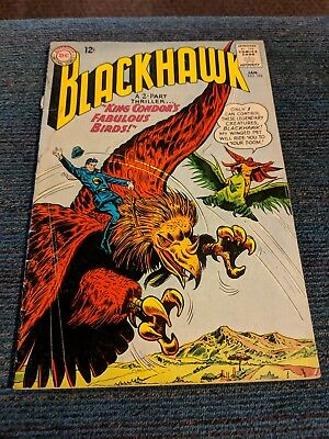 DC Comic Blackhawk Lot #192 -- #201 (1964, DC). 10 books.