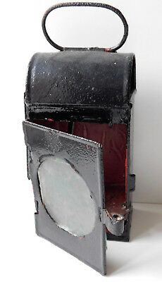 Antique rear lamp for horse drawn cart carriage lantern Victorian