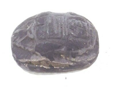 Rare Ancient Egypt Egyptian antique Scarab Date Unkown, Heartstone/Funerary