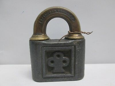 Vintage Yale Antique Padlock- No Key