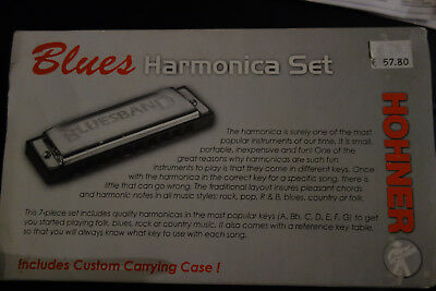 Hohner Mundharmonika Set Blues Hamonica Set
