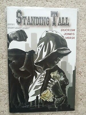 Standing Tall Comic no. 1 signed