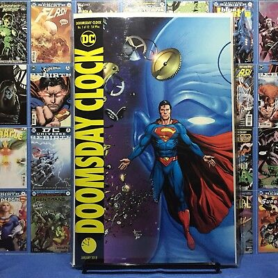 Doomsday Clock 1 2 3 4 5 6 7 8 Cover B Geoff Johns Gary Frank NM Watchmen DC